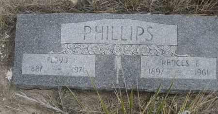 PHILLIPS, FLOYD - Sheridan County, Nebraska | FLOYD PHILLIPS - Nebraska Gravestone Photos