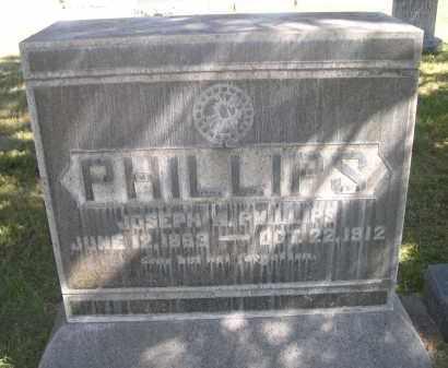 PHILLIPS, JOSEPH W. - Sheridan County, Nebraska   JOSEPH W. PHILLIPS - Nebraska Gravestone Photos