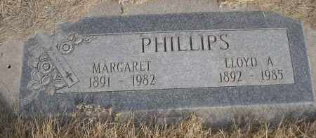 PHILLIPS, LLOYD A. - Sheridan County, Nebraska | LLOYD A. PHILLIPS - Nebraska Gravestone Photos