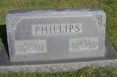 PHILLIPS, JOHN DAVID - Sheridan County, Nebraska | JOHN DAVID PHILLIPS - Nebraska Gravestone Photos
