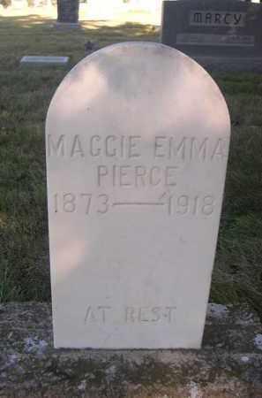 PIERCE, MAGGIE EMMA - Sheridan County, Nebraska | MAGGIE EMMA PIERCE - Nebraska Gravestone Photos
