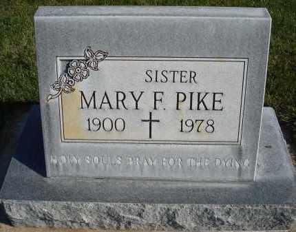 PIKE, MARY F. - Sheridan County, Nebraska | MARY F. PIKE - Nebraska Gravestone Photos