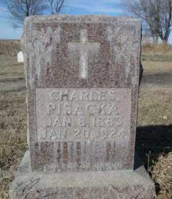 PISACKA, CHARLES - Sheridan County, Nebraska | CHARLES PISACKA - Nebraska Gravestone Photos