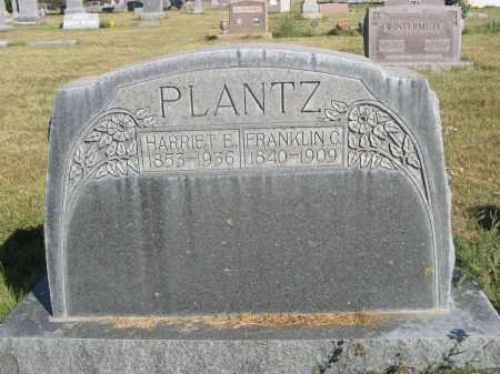 PLANTZ, HARRIET E. - Sheridan County, Nebraska | HARRIET E. PLANTZ - Nebraska Gravestone Photos