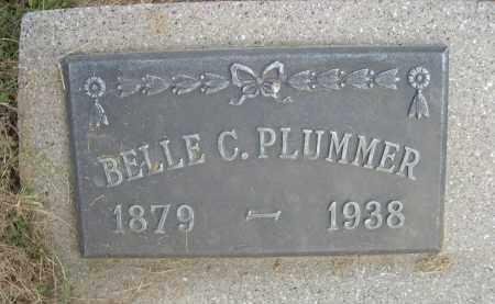 PLUMMER, BELLE C. - Sheridan County, Nebraska | BELLE C. PLUMMER - Nebraska Gravestone Photos