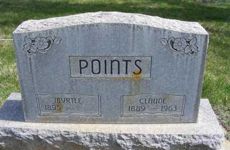 POINTS, MYRTLE - Sheridan County, Nebraska | MYRTLE POINTS - Nebraska Gravestone Photos