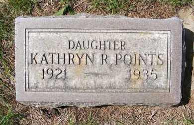 POINTS, KATHRYN R. - Sheridan County, Nebraska   KATHRYN R. POINTS - Nebraska Gravestone Photos