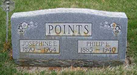 POINTS, PHILIP E. - Sheridan County, Nebraska | PHILIP E. POINTS - Nebraska Gravestone Photos