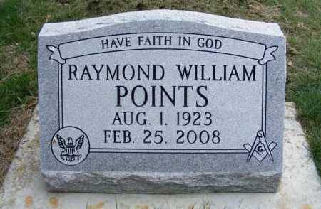 POINTS, RAYMOND WILLIAM - Sheridan County, Nebraska | RAYMOND WILLIAM POINTS - Nebraska Gravestone Photos