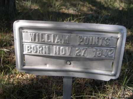 POINTS, WILLIAM - Sheridan County, Nebraska | WILLIAM POINTS - Nebraska Gravestone Photos