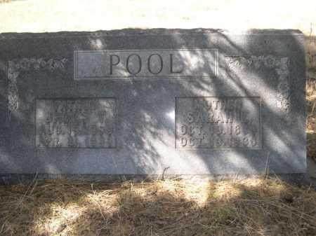 POOL, FAMILY - Sheridan County, Nebraska | FAMILY POOL - Nebraska Gravestone Photos