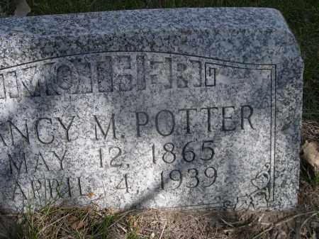 POTTER, NANCY M. - Sheridan County, Nebraska | NANCY M. POTTER - Nebraska Gravestone Photos