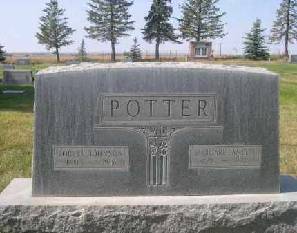 POTTER, ROBERT JOHNSON - Sheridan County, Nebraska | ROBERT JOHNSON POTTER - Nebraska Gravestone Photos