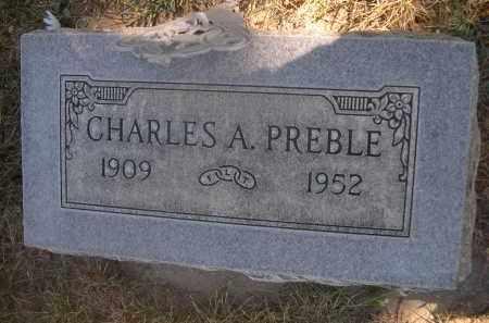 PREBLE, CHARLES A. - Sheridan County, Nebraska | CHARLES A. PREBLE - Nebraska Gravestone Photos
