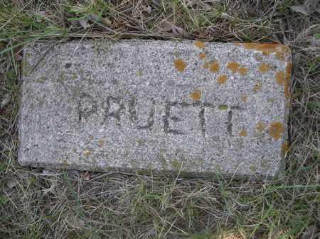 PRUETT, PLOT - Sheridan County, Nebraska | PLOT PRUETT - Nebraska Gravestone Photos