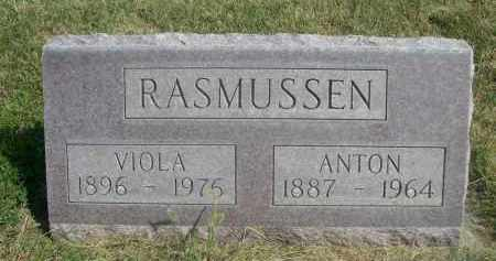 RASMUSSEN, VIOLA - Sheridan County, Nebraska   VIOLA RASMUSSEN - Nebraska Gravestone Photos
