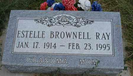 BROWNELL RAY, ESTELLE - Sheridan County, Nebraska   ESTELLE BROWNELL RAY - Nebraska Gravestone Photos