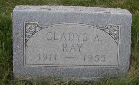 RAY, GLADYS A. - Sheridan County, Nebraska | GLADYS A. RAY - Nebraska Gravestone Photos