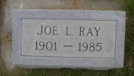 RAY, JOE L. - Sheridan County, Nebraska | JOE L. RAY - Nebraska Gravestone Photos