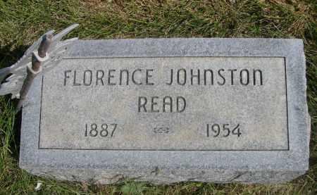 JOHNSTON READ, FLORENCE - Sheridan County, Nebraska   FLORENCE JOHNSTON READ - Nebraska Gravestone Photos