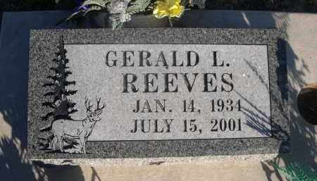 REEVES, GERALD L. - Sheridan County, Nebraska | GERALD L. REEVES - Nebraska Gravestone Photos