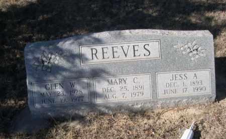 REEVES, JESS A. - Sheridan County, Nebraska   JESS A. REEVES - Nebraska Gravestone Photos