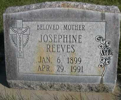 REEVES, JOSEPHINE - Sheridan County, Nebraska   JOSEPHINE REEVES - Nebraska Gravestone Photos