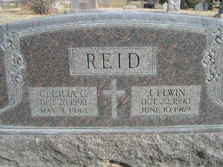 REID, CECILIA C. - Sheridan County, Nebraska   CECILIA C. REID - Nebraska Gravestone Photos