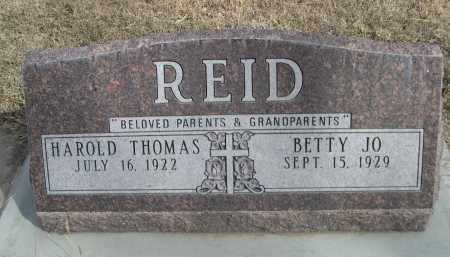 REID, BETTY JO - Sheridan County, Nebraska | BETTY JO REID - Nebraska Gravestone Photos