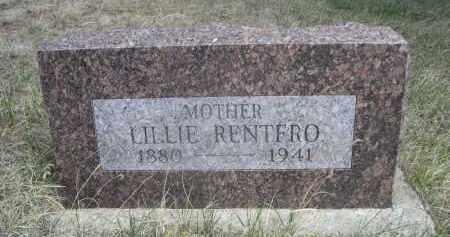 RENTFRO, LILLIE - Sheridan County, Nebraska | LILLIE RENTFRO - Nebraska Gravestone Photos