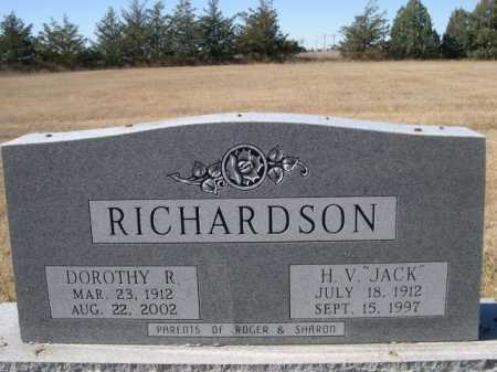 "RICHARDSON, H. V. ""JACK"" - Sheridan County, Nebraska 