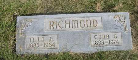 RICHMOND, CORA G. - Sheridan County, Nebraska | CORA G. RICHMOND - Nebraska Gravestone Photos