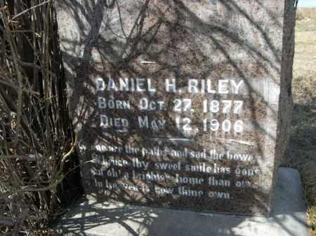 RILEY, DANIEL H. - Sheridan County, Nebraska   DANIEL H. RILEY - Nebraska Gravestone Photos