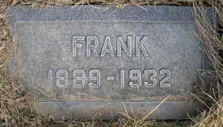 RILEY, FRANK - Sheridan County, Nebraska | FRANK RILEY - Nebraska Gravestone Photos