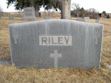 RILEY, FAMILY - Sheridan County, Nebraska | FAMILY RILEY - Nebraska Gravestone Photos
