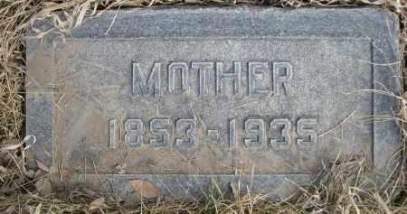 RILEY, MOTHER - Sheridan County, Nebraska   MOTHER RILEY - Nebraska Gravestone Photos
