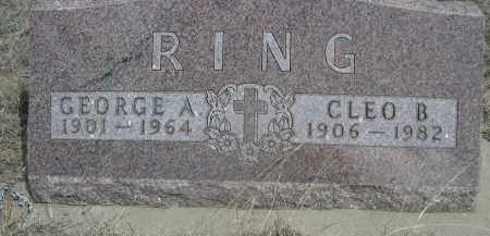 RING, CLEO B. - Sheridan County, Nebraska | CLEO B. RING - Nebraska Gravestone Photos