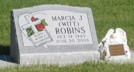 ROBINS, MARCIA  J. - Sheridan County, Nebraska   MARCIA  J. ROBINS - Nebraska Gravestone Photos