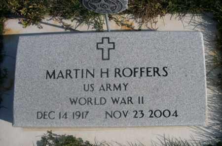 ROFFERS, MARTIN H. - Sheridan County, Nebraska   MARTIN H. ROFFERS - Nebraska Gravestone Photos