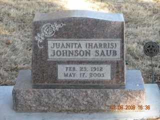 SAUB, JUANITA - Sheridan County, Nebraska | JUANITA SAUB - Nebraska Gravestone Photos