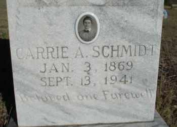 SCHMIDT, CARRIE A. - Sheridan County, Nebraska | CARRIE A. SCHMIDT - Nebraska Gravestone Photos
