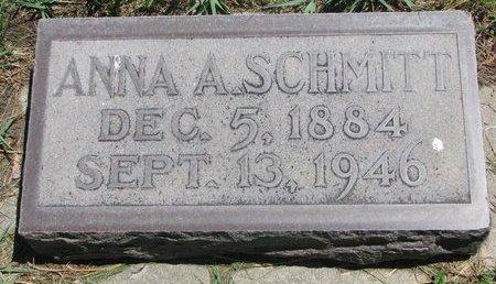 SCHMITT, ANNA AGNES - Sheridan County, Nebraska   ANNA AGNES SCHMITT - Nebraska Gravestone Photos