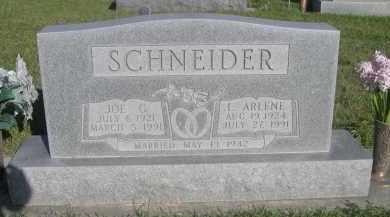 SCHNEIDER, JOE G. - Sheridan County, Nebraska | JOE G. SCHNEIDER - Nebraska Gravestone Photos