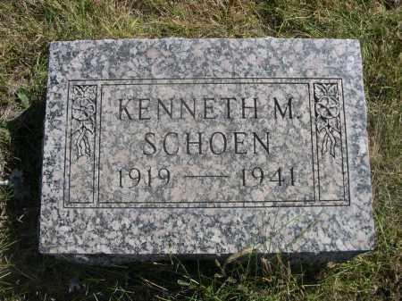 SCHOEN, KENNETH M. - Sheridan County, Nebraska | KENNETH M. SCHOEN - Nebraska Gravestone Photos