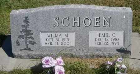 SCHOEN, EMIL C. - Sheridan County, Nebraska   EMIL C. SCHOEN - Nebraska Gravestone Photos