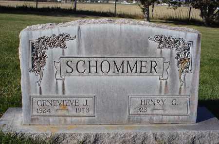 SCHOMMER, HENRY G. - Sheridan County, Nebraska | HENRY G. SCHOMMER - Nebraska Gravestone Photos