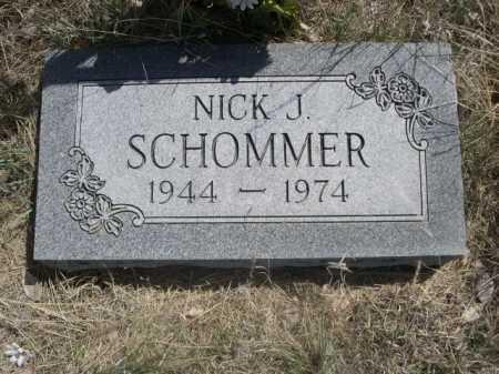 SCHOMMER, NICK J. - Sheridan County, Nebraska | NICK J. SCHOMMER - Nebraska Gravestone Photos