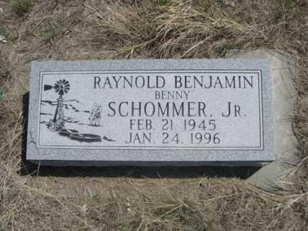 "SCHOMMER, RAYNOLD BENJAMIN ""BENNY"" JR. - Sheridan County, Nebraska | RAYNOLD BENJAMIN ""BENNY"" JR. SCHOMMER - Nebraska Gravestone Photos"