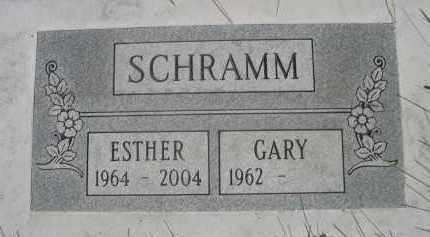 SCHRAMM, ESTHER - Sheridan County, Nebraska | ESTHER SCHRAMM - Nebraska Gravestone Photos