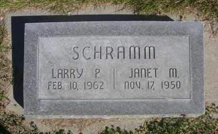 SCHRAMM, LARRY P. - Sheridan County, Nebraska | LARRY P. SCHRAMM - Nebraska Gravestone Photos